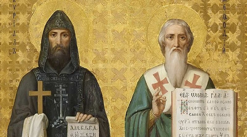 "24th of May – SS. Cyril and Methodius Day, ""The Enlighteners of the Slavs"""