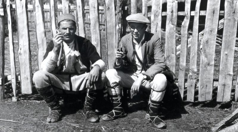 The Macedonian Poreche 1932-1933  according to Józef Obrębski's ethnographic records