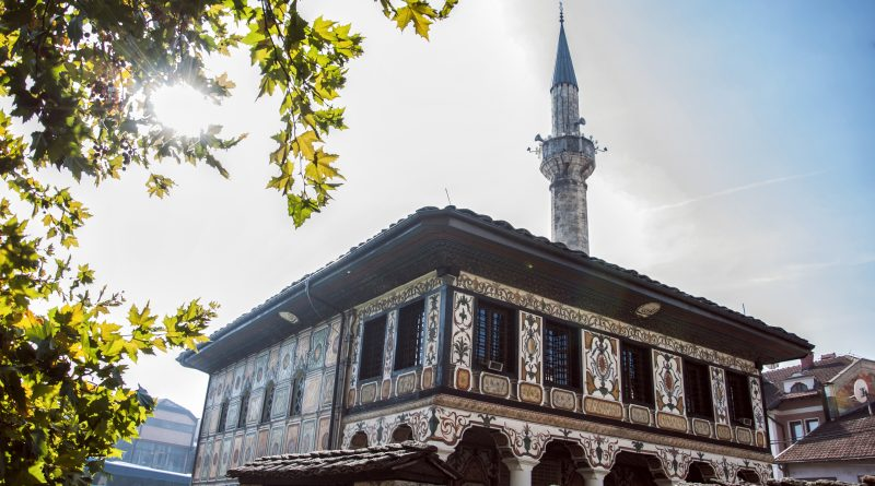 The Pasha's Pied Mosque in Tetovo